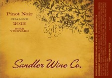 Sandler Central Coast Pinot 4 Pack