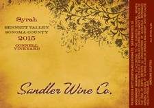 2015 Connell Vineyard Syrah